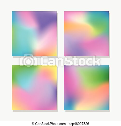 Blurred abstract colorful backgrounds - csp46027826