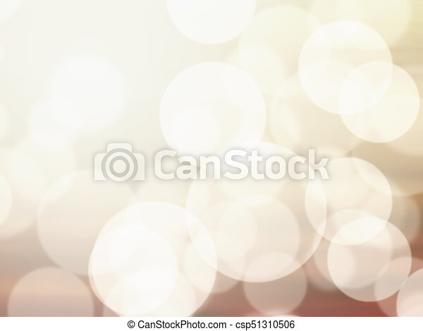 Blurred abstract light bokeh background - csp51310506