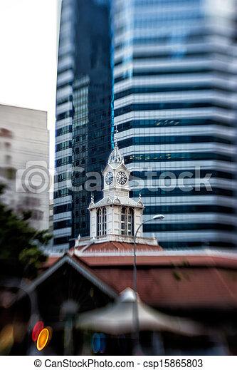 Blurred Architecture, Singapore - csp15865803