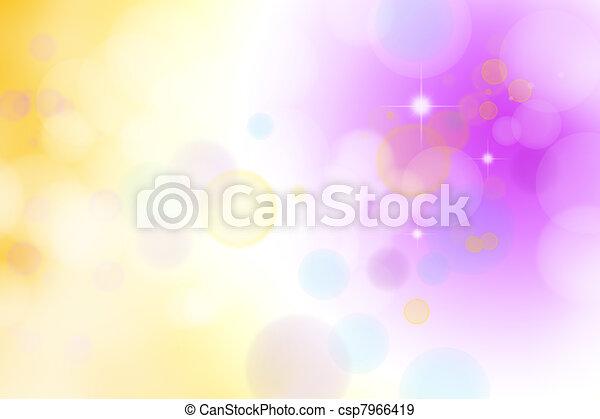 Blurred background - csp7966419