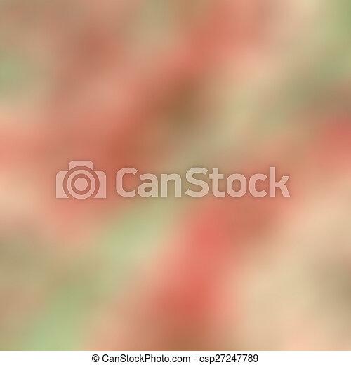 blurred background - csp27247789