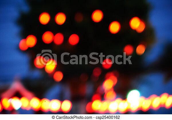 Blurred background - csp25400162