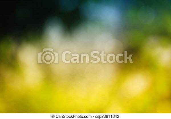 Blurred background. - csp23611842