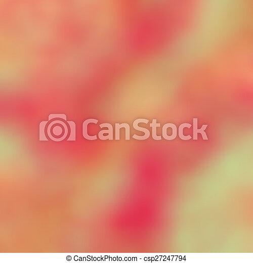blurred background - csp27247794