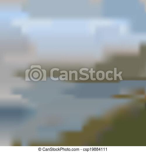 blurred background - csp19884111