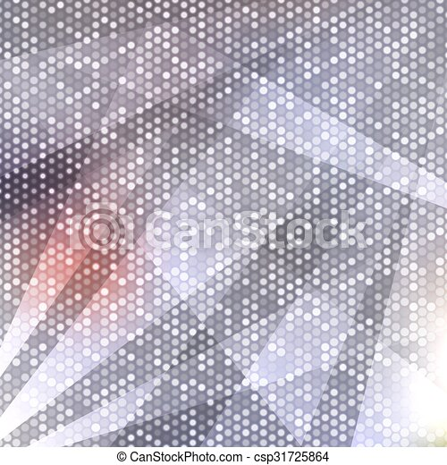 Blurred background with dots - csp31725864