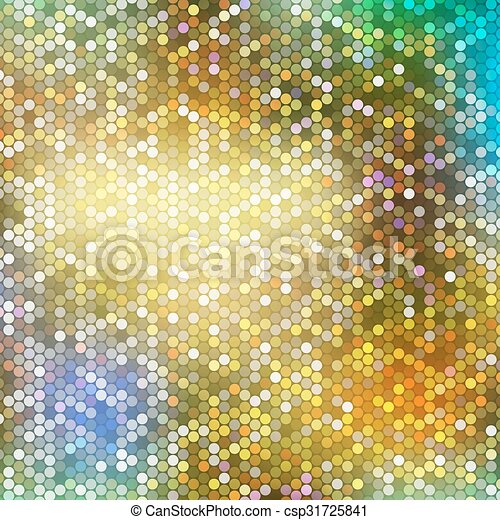 Blurred background with dots - csp31725841