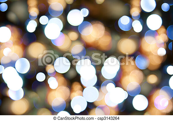 blurred christmas lights holiday background csp3143264 - Blurred Christmas Lights