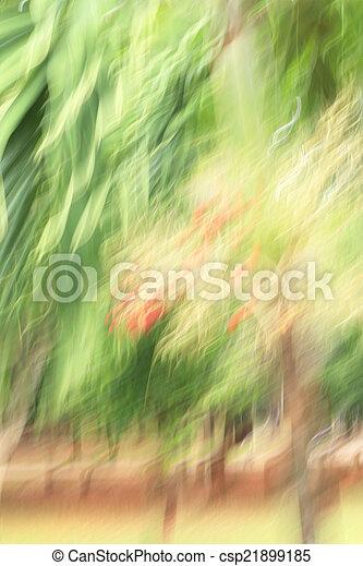 blurred light trails background - csp21899185