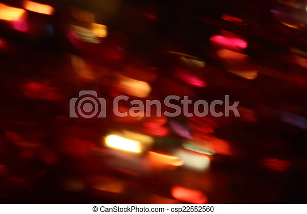blurred light trails - csp22552560