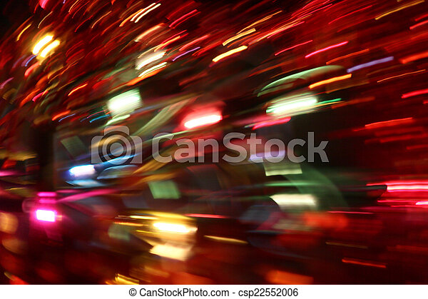 blurred light trails - csp22552006
