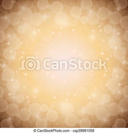 blurred lights background - csp39981058
