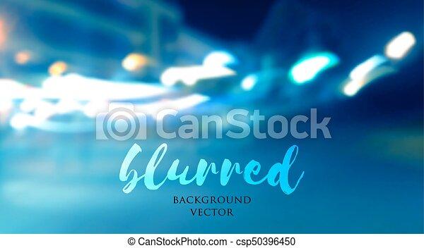 blurred lights background - csp50396450