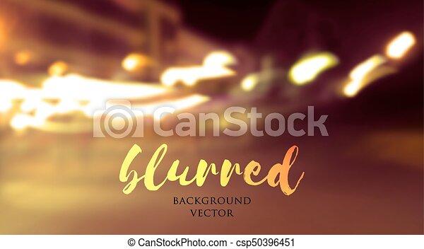 blurred lights background - csp50396451