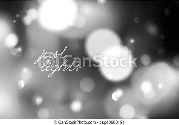 blurred lights background - csp40688191