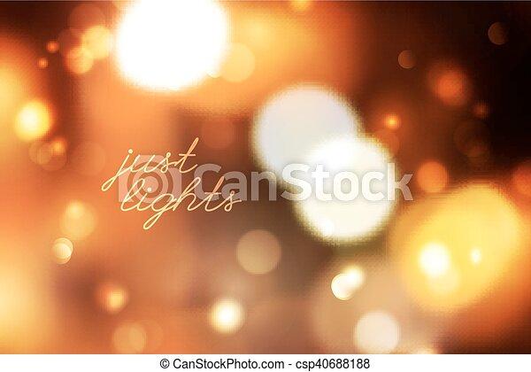 blurred lights background - csp40688188