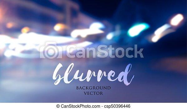 blurred lights background - csp50396446