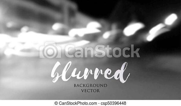 blurred lights background - csp50396448