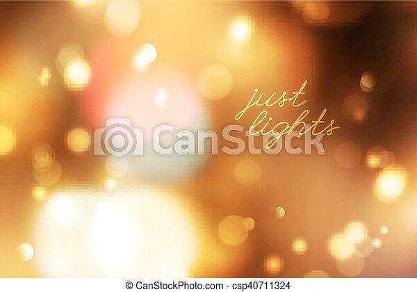 blurred lights background - csp40711324