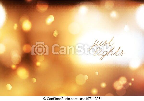 blurred lights background - csp40711328