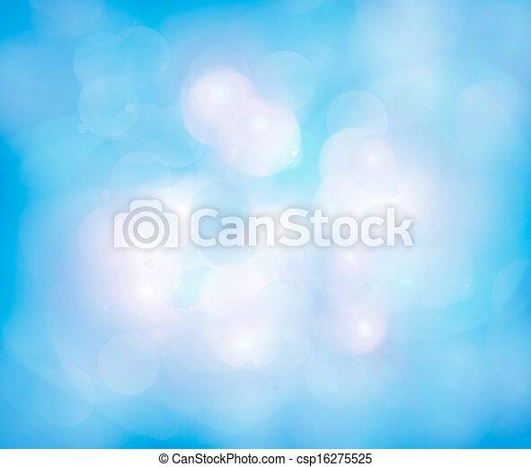 Blurred lights - csp16275525