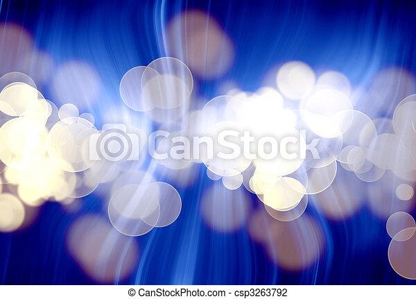 blurred lights - csp3263792