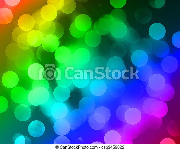Blurred lights - csp3459022