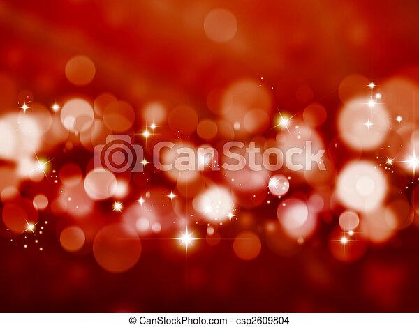 blurred lights - csp2609804