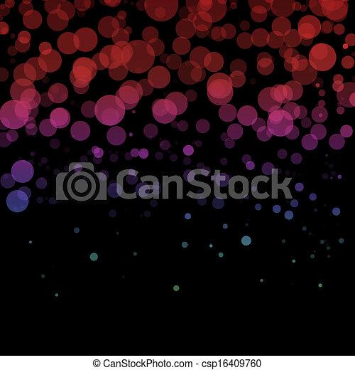 Blurred lights - csp16409760