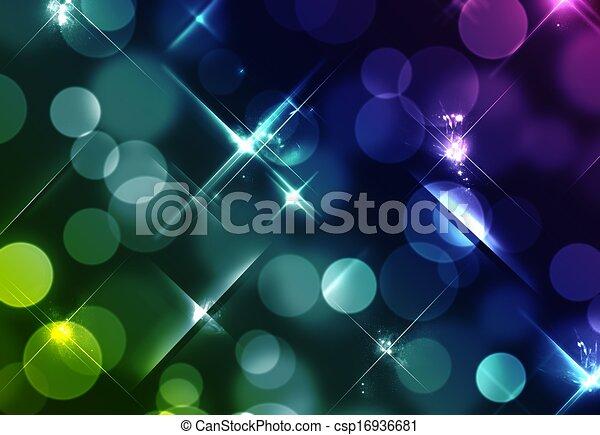 Blurred Lights - csp16936681