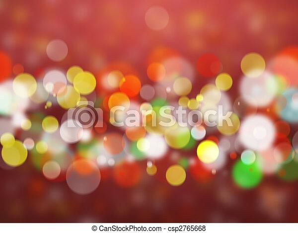 blurred lights - csp2765668