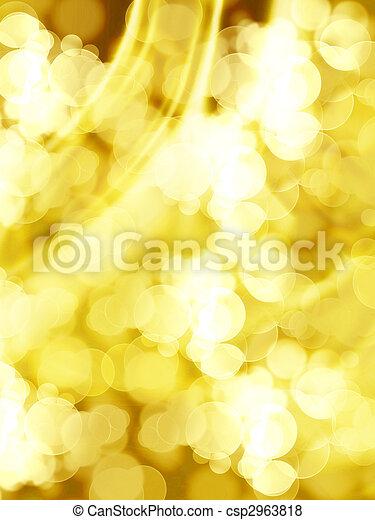 blurred lights - csp2963818