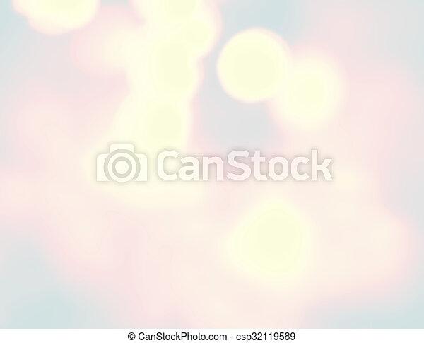 Blurred lights - csp32119589