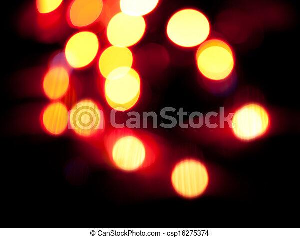 Blurred lights - csp16275374