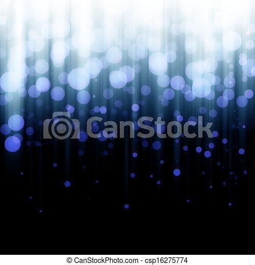 Blurred lights - csp16275774