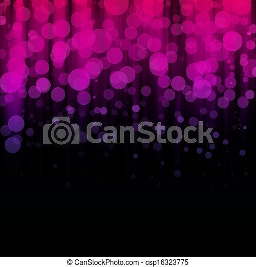 Blurred lights - csp16323775
