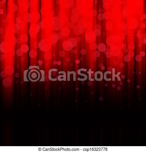 Blurred lights - csp16323778