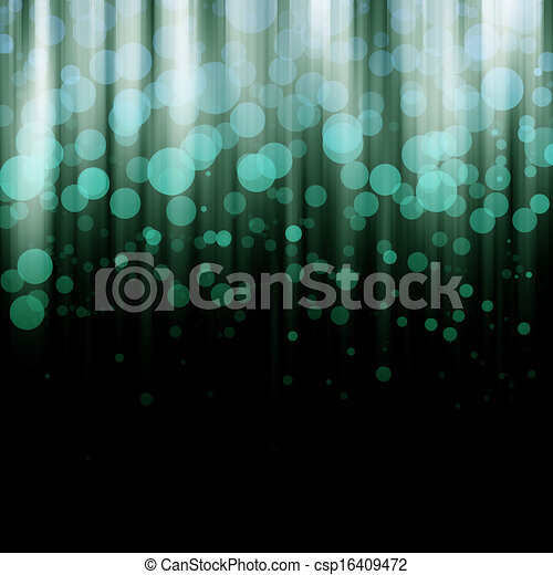 Blurred lights - csp16409472