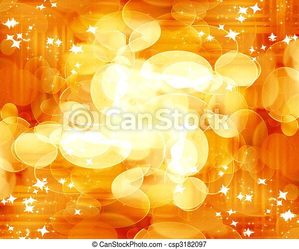 blurred lights - csp3182097