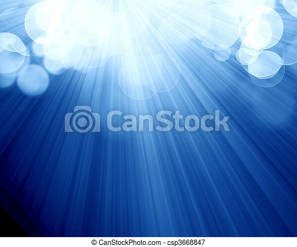 blurred lights - csp3668847