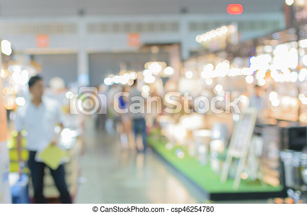 Blurred of shopping mall, Urban lifestyle concept - csp46254780