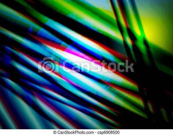 blurred stripes, vector - csp6908500
