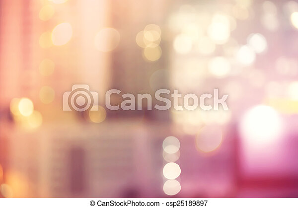 Blurred urban building background scene - csp25189897