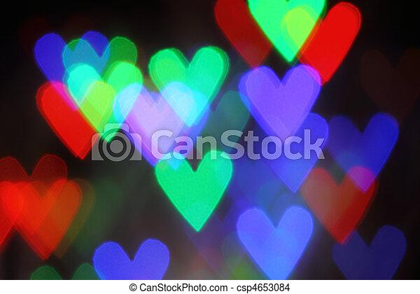 Blurred valentine background - csp4653084