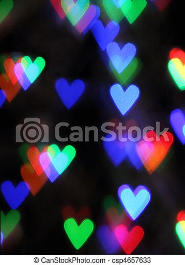 Blurred valentine background - csp4657633