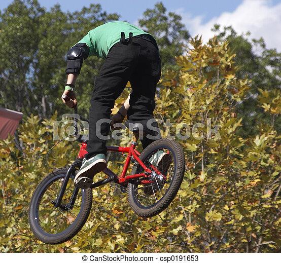 BMX Biker - csp0191653