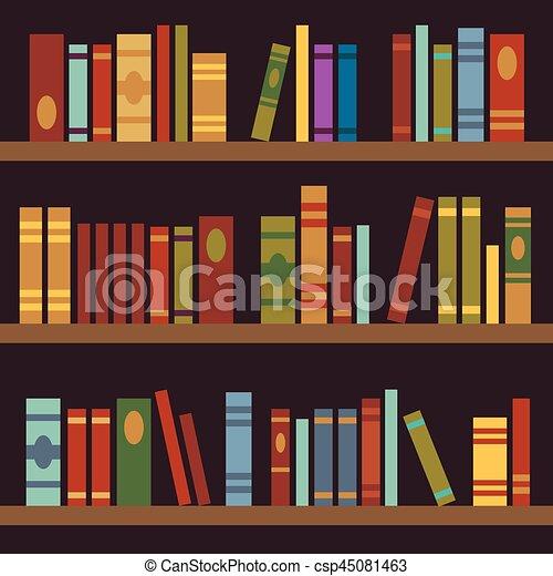 bo te tag res illustration vecteur livre biblioth que clip art vectoriel rechercher. Black Bedroom Furniture Sets. Home Design Ideas