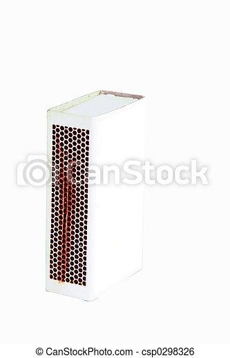 boîte allumettes, coupure - csp0298326