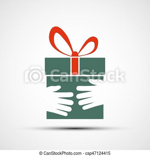 boîte, cadeau - csp47124415