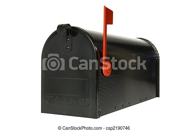 boîte, courrier, fermé - csp2190746